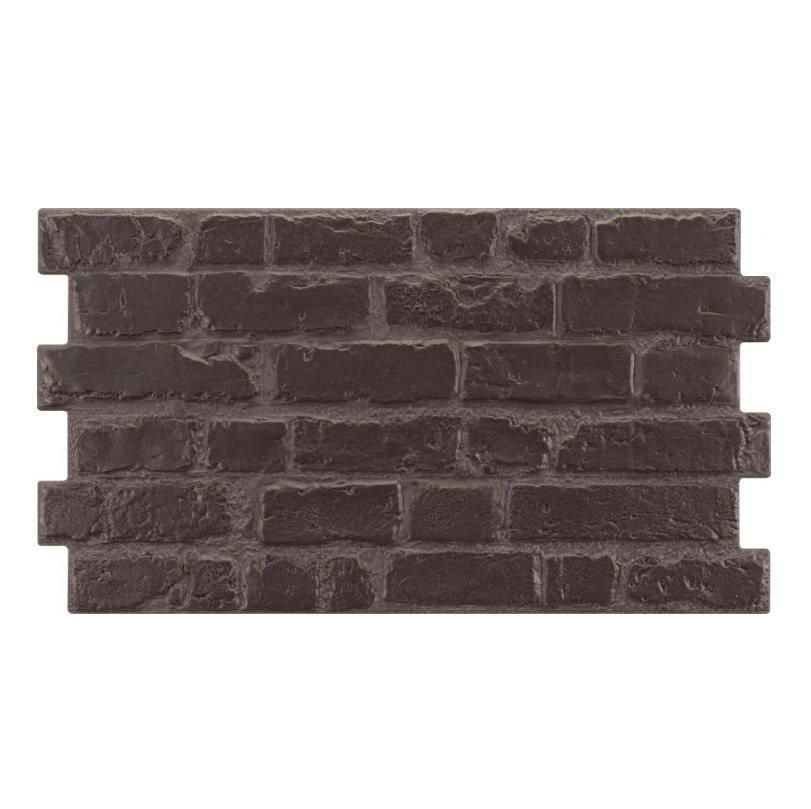 Parement mural cérame style pierre brique 31X56 cm MANHATTAN ANTRACITA - 1.21m² - zoom