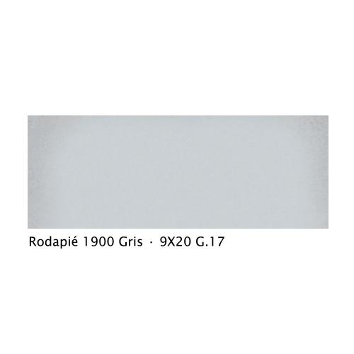 Plinthe intérieur vieillie 1900 9x20 cm GRIS - 2mL Vives Azulejos y Gres