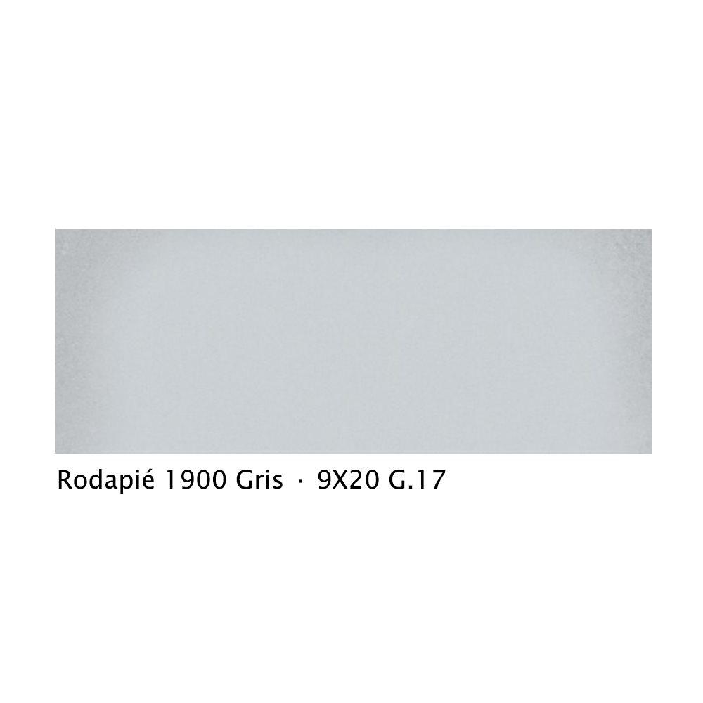 Plinthe intérieur vieillie 1900 9x20 cm GRIS - 2mL - zoom