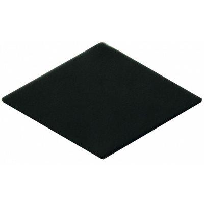 Carrelage losange noir 15x8,5cm ROMBO10 CARBO - 0.27m² - zoom