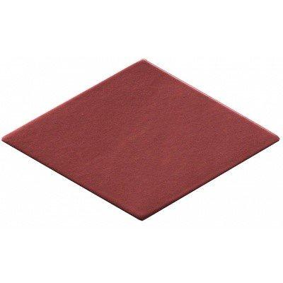 Carrelage losange rouge 15x8,5cm ROMBO10 CARMIN - 0.27m² - zoom