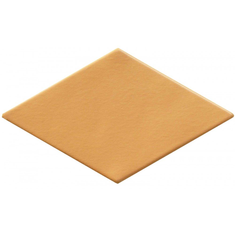 Carrelage losange orangé 15x8,5cm ROMBO10 OCRE - 0.27m² - zoom