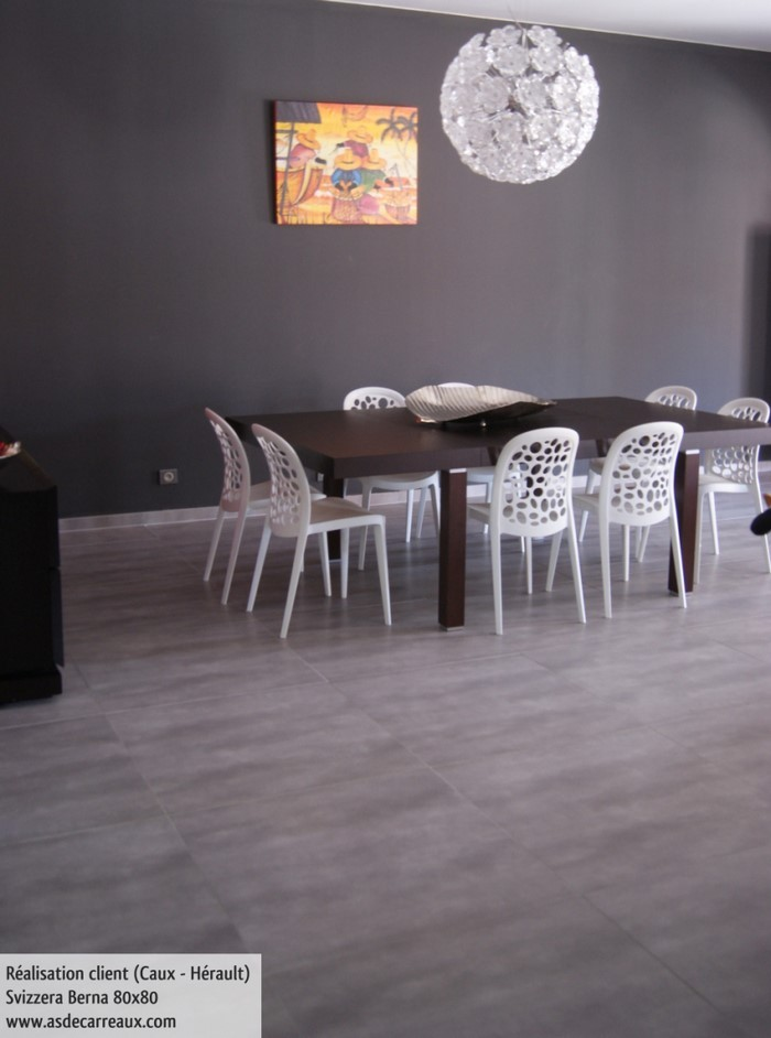 carrelage gris anthracite grand format