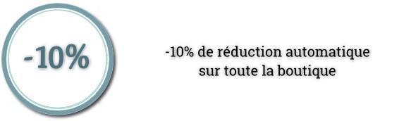 -10 % de réduction !