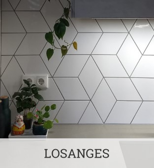 Carreaux losanges