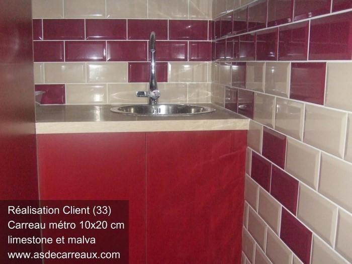 Inspiration des r alisations ambiances de nos clients for Ou trouver du carrelage adhesif