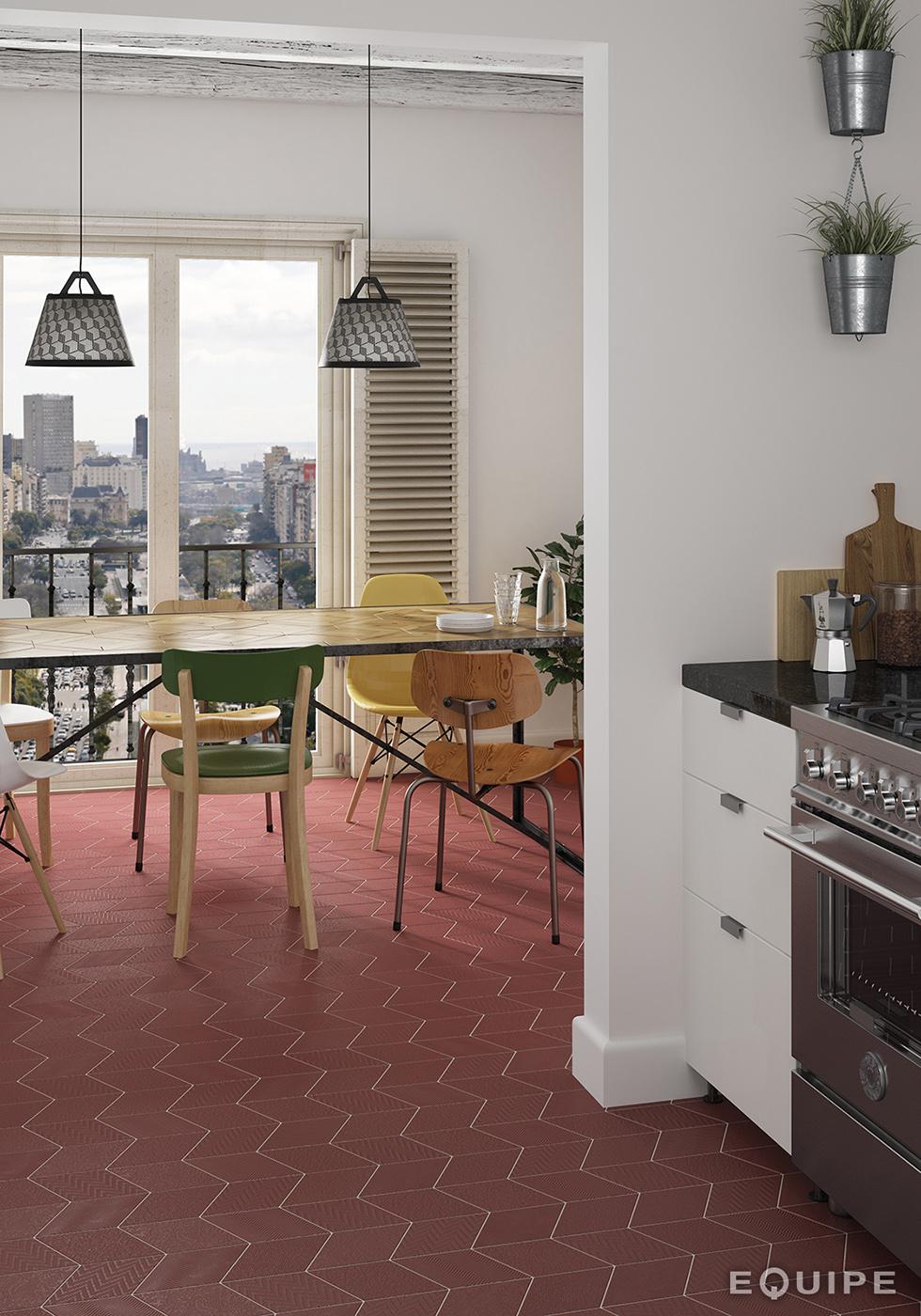 carrelage losange diamant 14x24cm rhombus 3 dimensions. Black Bedroom Furniture Sets. Home Design Ideas