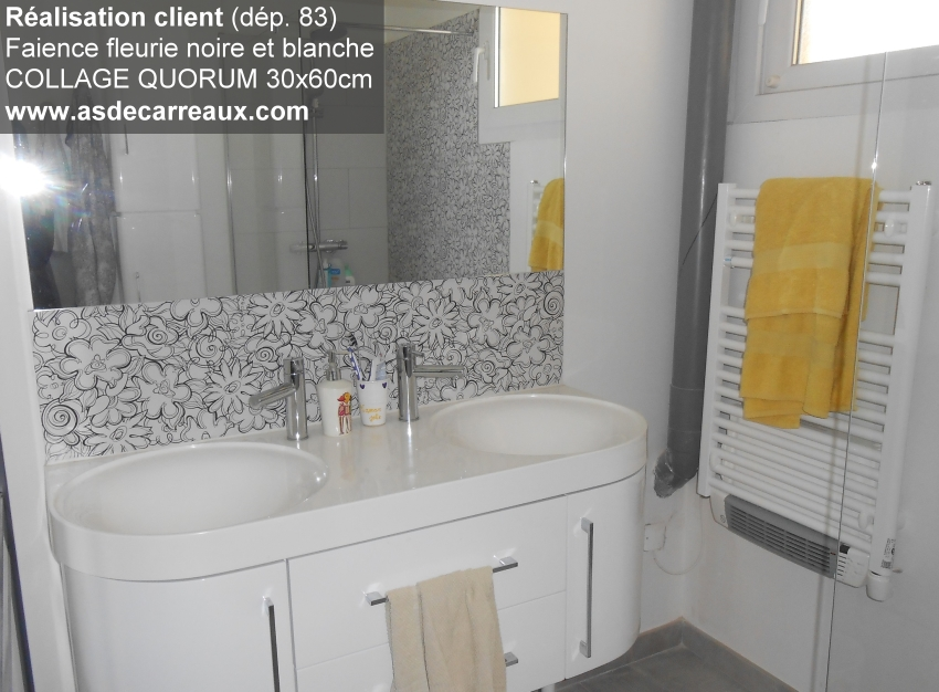 Inspiration des r alisations ambiances de nos clients for Faience salle de bain porcelanosa