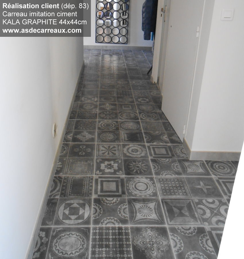 Couloir carreaux de ciment uw55 jornalagora - Carrelage carreau de ciment ...