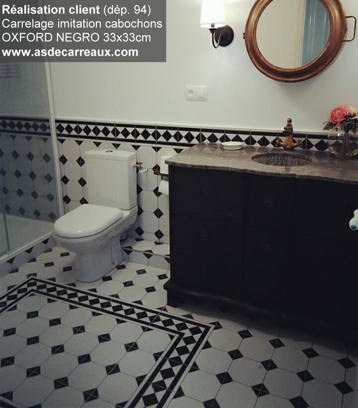 inspiration des r alisations sol ambiances de nos clients carrelage faience salle de bain. Black Bedroom Furniture Sets. Home Design Ideas